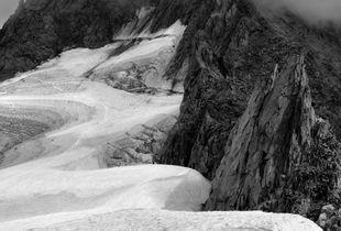 "Glacier des Periades, from the series ""Dark Mountains"""