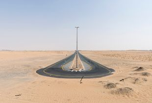 Desert Road, Dubai, September 2016