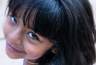 Princess of Agua Azul, Chiapas, Mexico