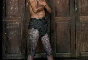 Ancient marks of manhood , Myanmar