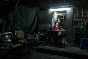 Local Seamstress, Jida Neighborhood Zhuhai, China