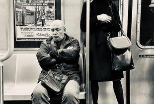 Subway Meditation Times Two