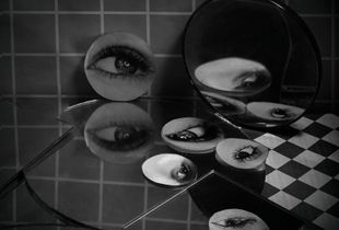 Eyes and Mirrors No. 2, 18 x 18 inches (framed), Archival Inkjet print, 2018
