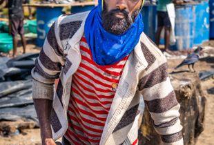 Sri Lanken Fisherman