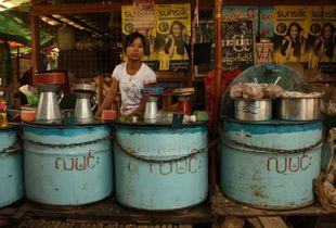 Girl Selling Gasoline