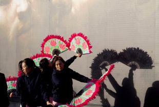 Dancers, Trafalgar Square.