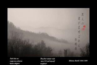 """The first winter rain""  from the research ""Haiku""  © Roberto Spotti"