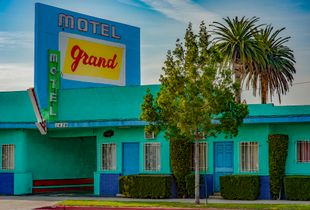 """Grand Motel from the Series """"Incongrous Pieces"""""""