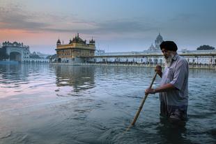 Le Sevadar du temple d'Harmandir Sahib