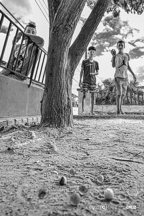 Canicas en el Cayo
