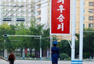 Street in Pyongyang