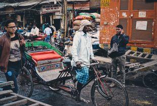 Streets of New Dehli