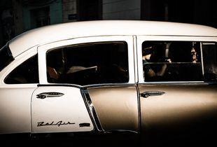 Old fashion car in Cuba