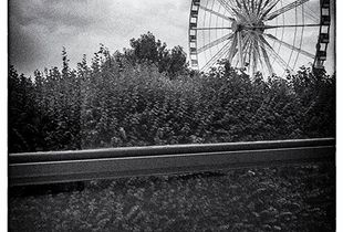 Two Lovers and the Ferris Wheel.