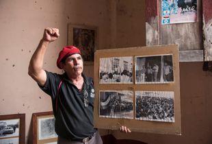 Don Marcelo, hombre de la revolución. Leon, Nicaragua, 2017.
