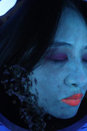 UnVisible - Blue Self-portrait