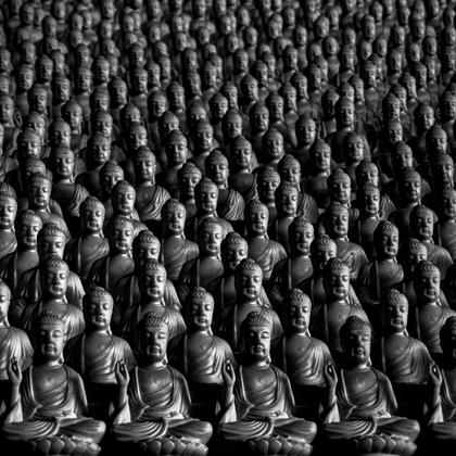 Endless Buddha Black