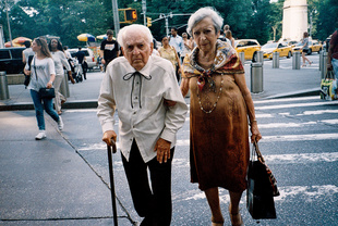 Old Couple in Manhattan