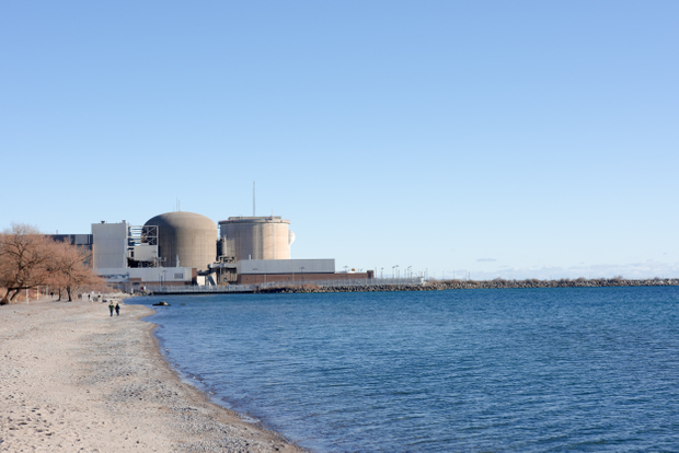 Nuclear Plant, Pickering, Canada 2020