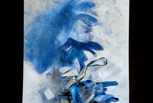 "From the Blue Period  Chromogenic print in to limited editions of seven 20""x24"""