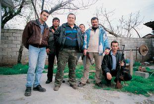 Gang de Nehat Koula à Tirana