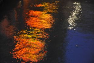 Venice Nocturnal Water Reflection 1