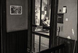 Entrance to Schwab's Apartment
