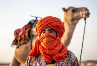 The berber of Sahara