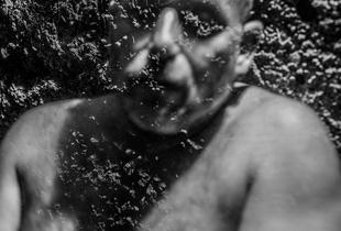 Transparent Self Portrait, Troy, NY, March 2015