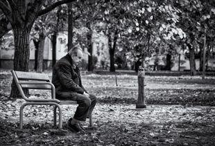 Contemplative man