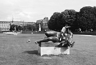 Jardin des Tuileries, Paris, France, 1982