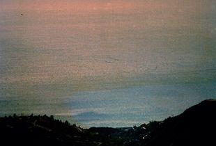 Pacific Ocean, Santa Monica Mountains, California, 2019