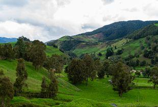 Paisaje en Belmira, Antioquia