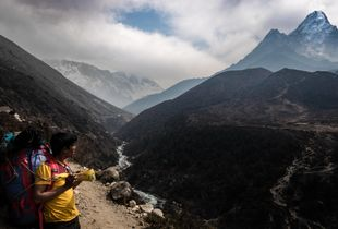 Road to the Mount Everest