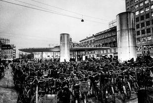Copenhagen: cemetery of bikes
