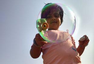Expression through bubble