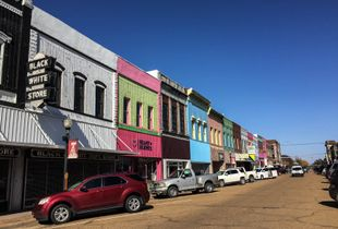 Main Street Yazoo City, MS