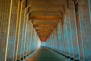 "Bridge of Dreams #1a  (sun ""painted"")"