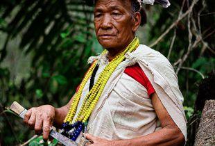 Nyishi tribe of Arunachal Pradesh in North East of India.