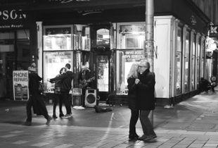 Dancers on Buchanan Street, Glasgow