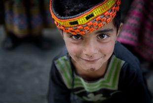 Young Kalasha girl.