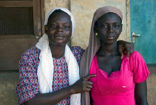 Efua and Ama, Descendants of Slaves, Yendi, Ghana