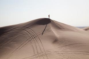 Man On Dune