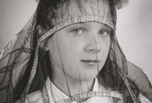 Child with a veil