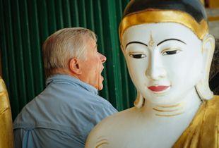 Talking to the Buddha