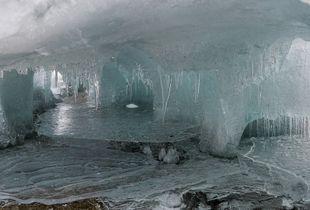 Ice Palace, Lake Hoare, Antarctica