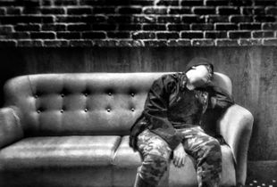 Sleepy teen