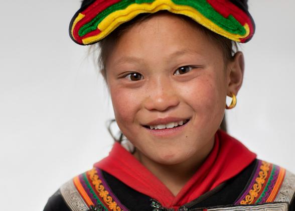 Female portrait of Yi Nationality 01