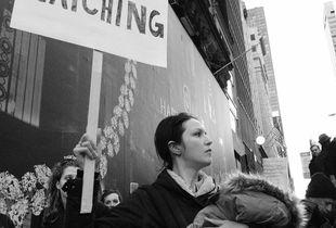 Anti Trump Protest, NYC 2016