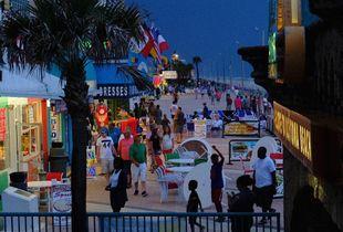 Daytona boardwalk
